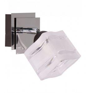 lampa 1 plomienna z chromowanymi elementami rozne rodzaje wzory 277x300 Czym kierować się przy wyborze kinkietów do swojego mieszkania?