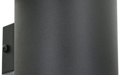 Lampa Kinkiet Owal Aluminiowa Stylowa Ścienna