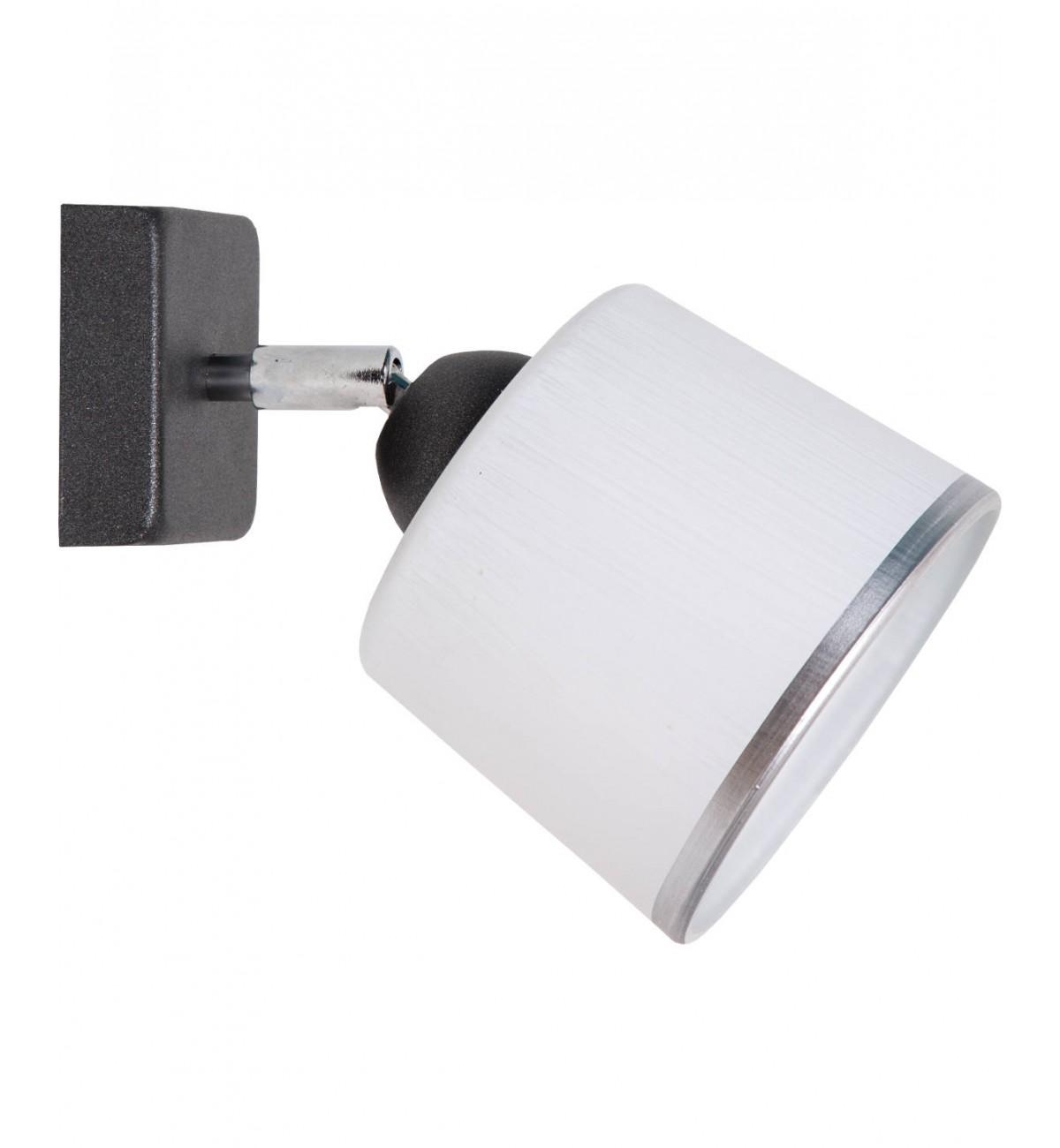 lampa kinkiet sufitowa wiszaca plafon Lampa Kinkiet Szklany Klosz Wiele Kolorów