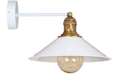 Lampa Kinkiet w Stylu Retro Loft Edison