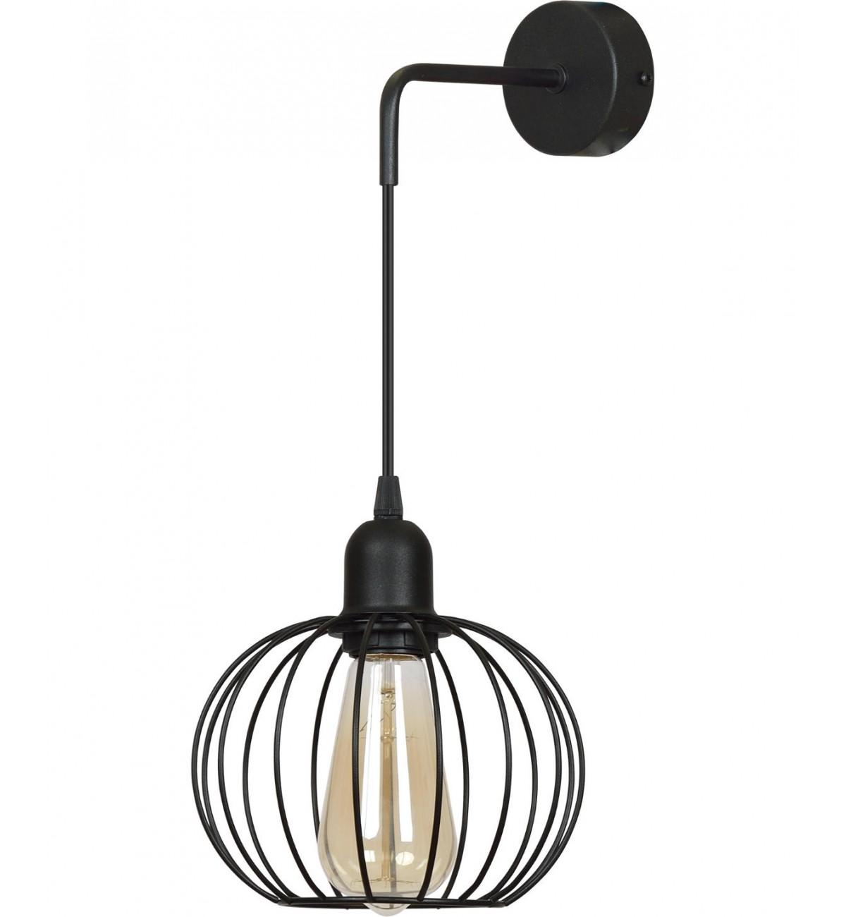 nowoczesny kinkiet wiszacy lampa scienna loft Kinkiety do jadalni